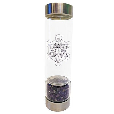 Crystal Infuser Water Bottle