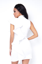 Better Off Mini Dress - White