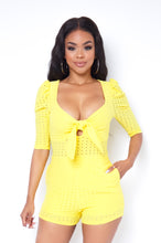 Teresa Romper - Yellow