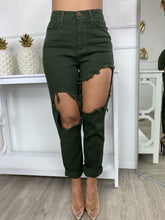 Ask For It Jeans - Dark Green
