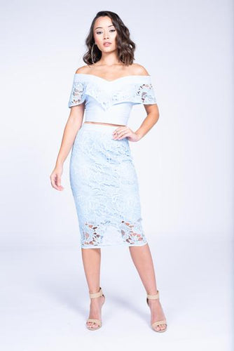Skyler Two Piece Skirt Set