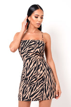 Safari Mini Dress - Taupe