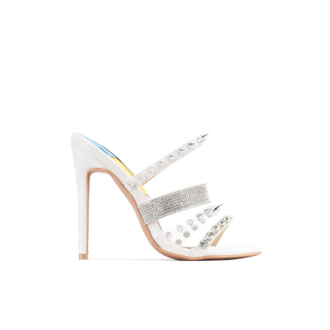 Paris Heels - White