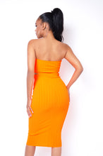 Needed Me Two Piece Skirt Set - Orange