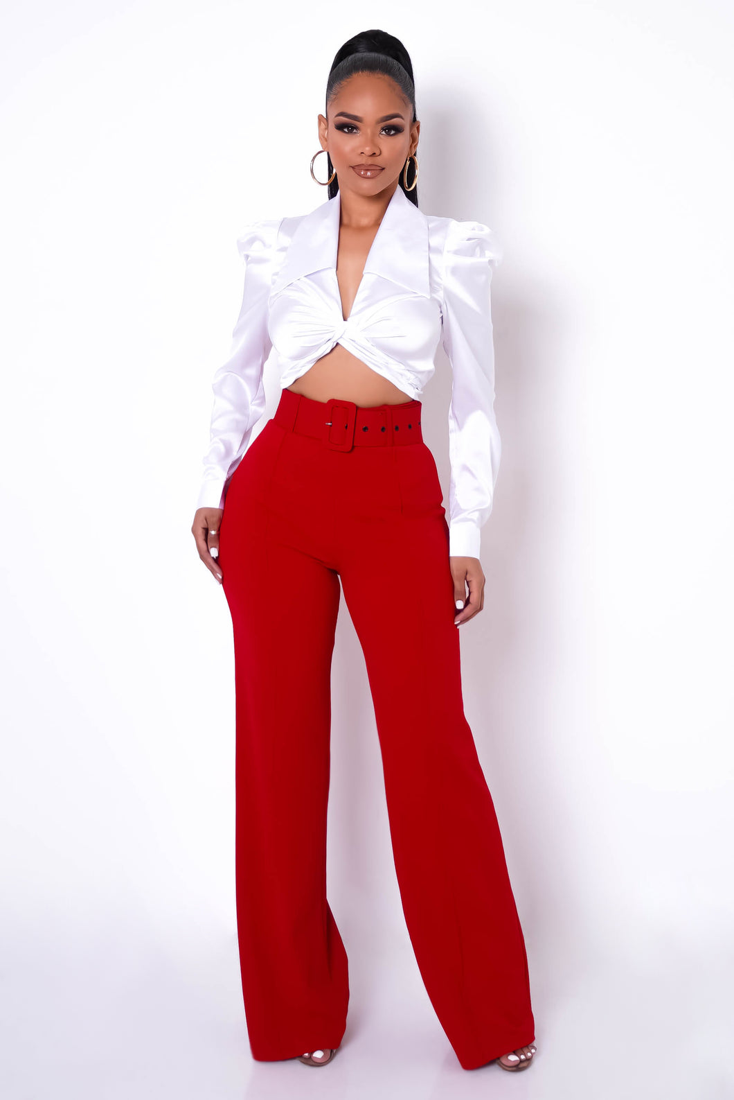 Treat Yourself Pants - Red