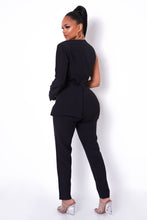 Back In Business Jumpsuit - Black