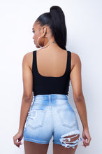 Corina Crop Top - Black