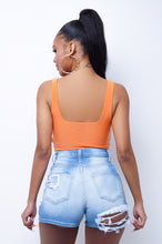 Corina Crop Top - Orange