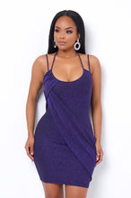 Violet Mini Dress - Purple