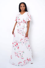 Beauty Queen Maxi Dress - White