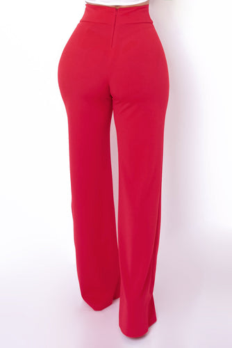 Magnolia Pants - Red