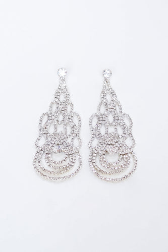 Lana Earrings - Silver