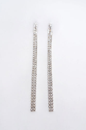 Melina Earrings - Silver
