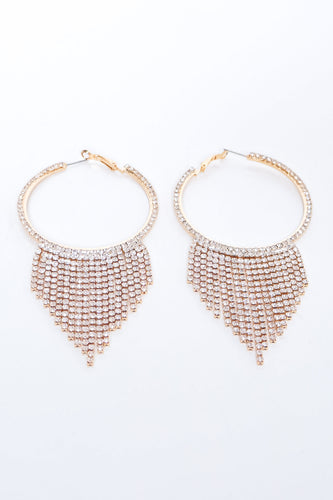 Chantel Earrings - Gold