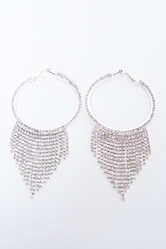 Chantel Earrings - Silver