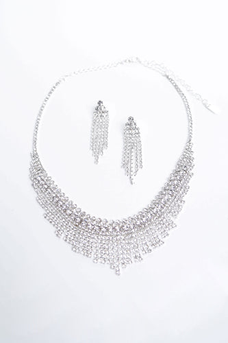 Christina Jewelry Set - Silver