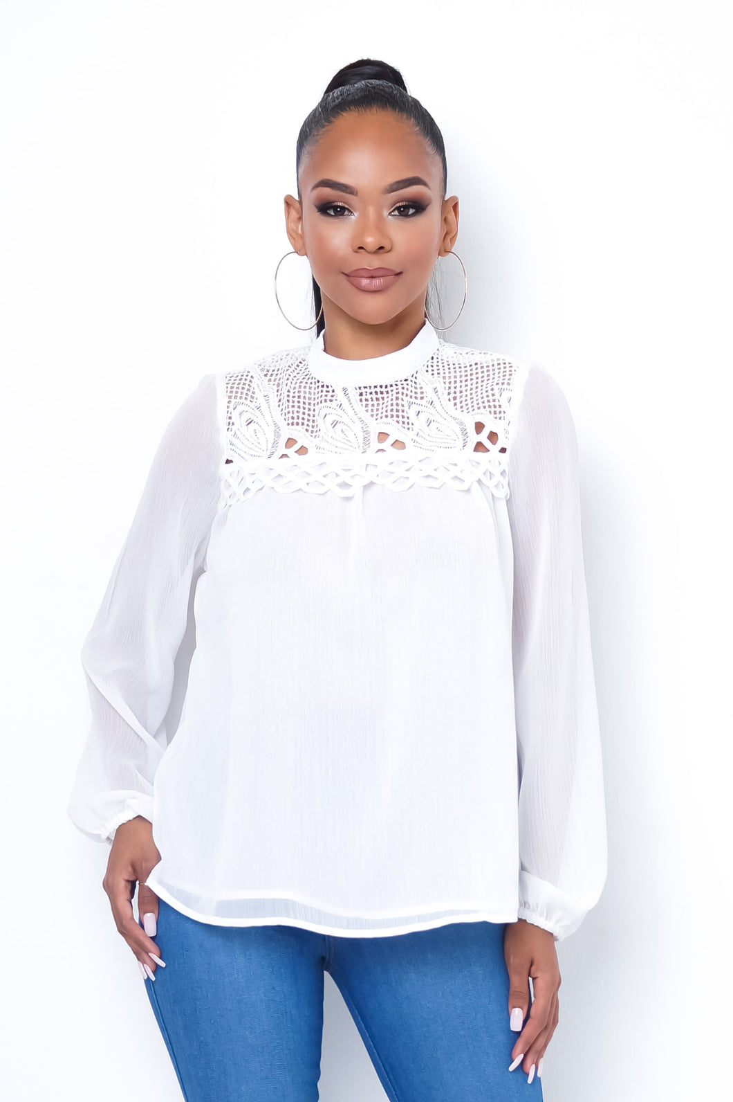 New Age Top - White