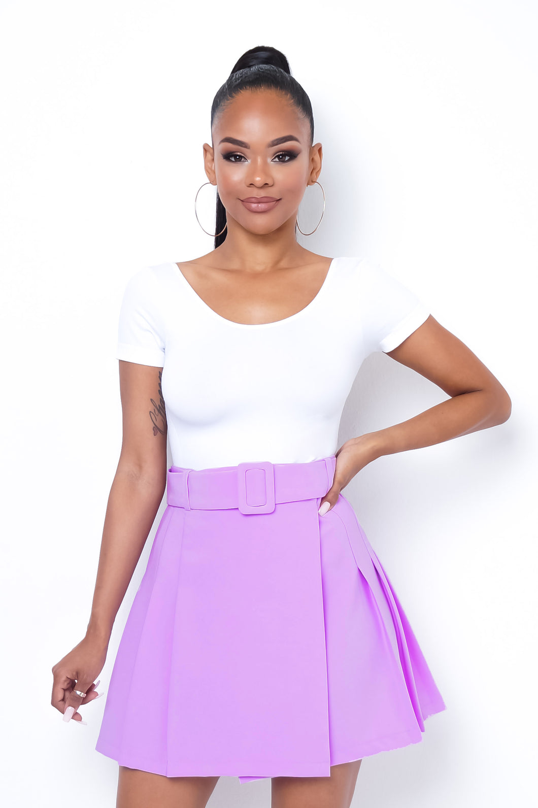 Essence Mini Skirt - Lavender