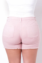 Plus Size Melinda Shorts - Light Pink