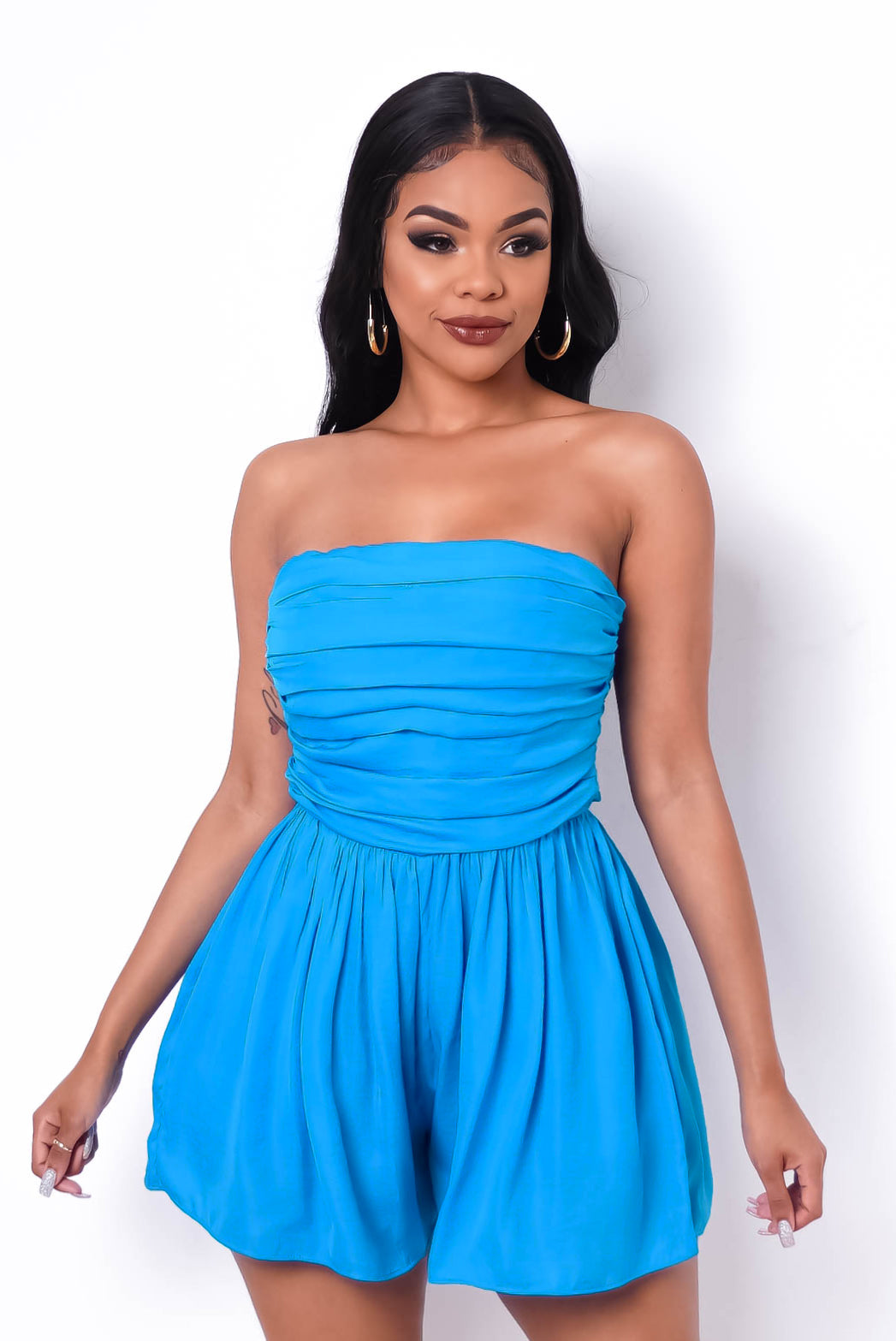 Authentic Romper - Blue