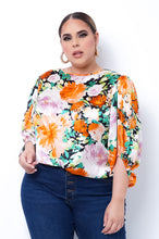 Plus Size Dakota Top - Orange