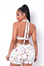 Multi Way Two Piece Short Set - White