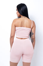 No More Drama Two Piece Short Set - Pink