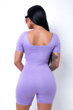 Kristen Romper - Purple