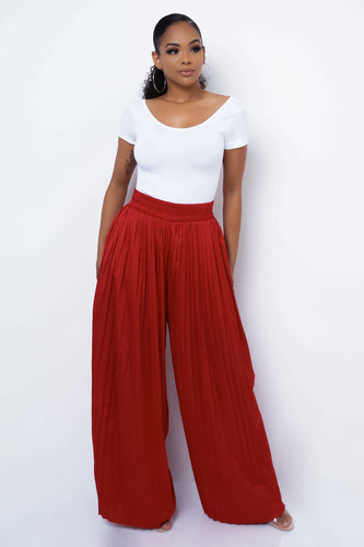 Sheila Pants - Red