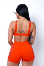 Hayden Two Piece Short Set - Orange