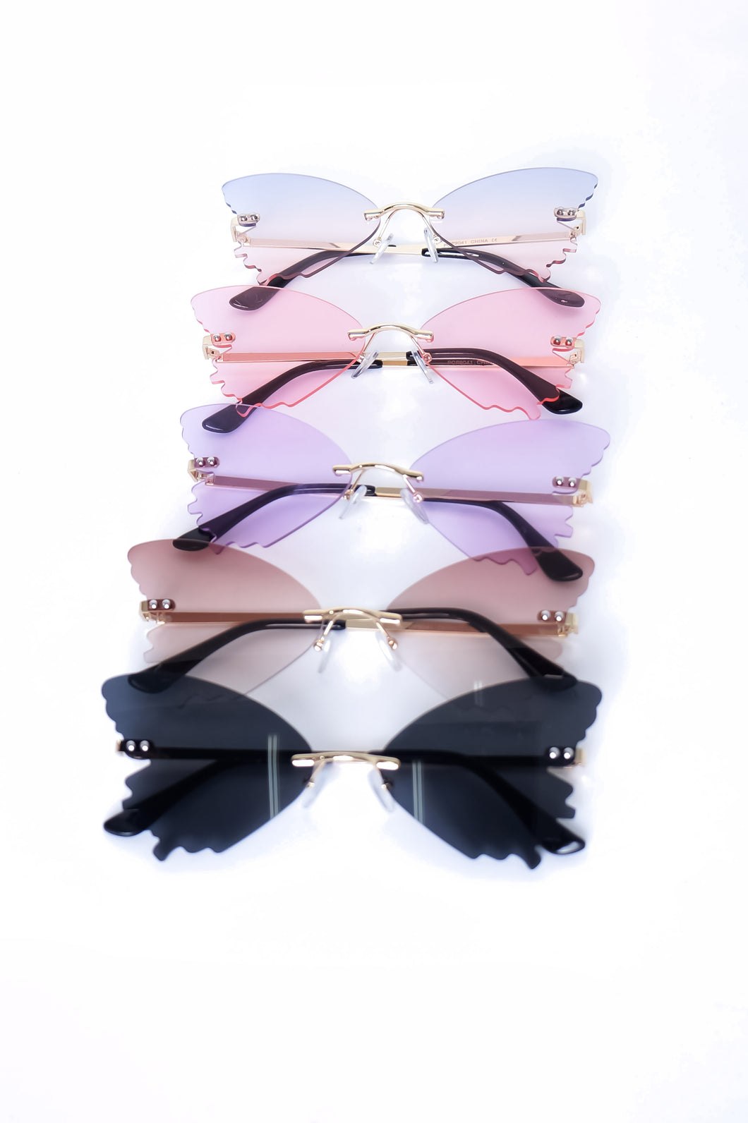 Butterfly Sunglasses - Multicolor