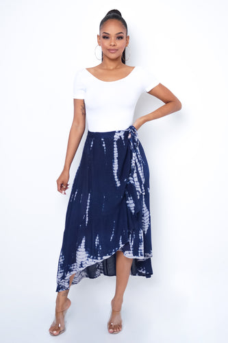 Marimar Skirt  - Blue