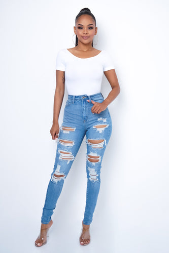 BFF Jeans - Light Blue