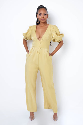Melody Jumpsuit - Yellow