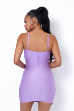 Julia Mini Dress - Purple