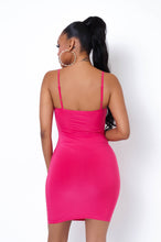 Juliana Mini Dress - Fucshia