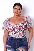 Plus Size Body Katrina-White
