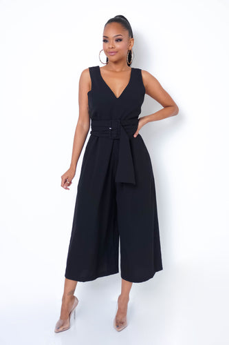 Federica Jumpsuit - Black