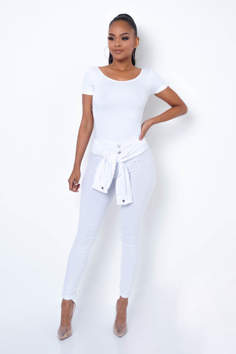 Desiree Pants - White
