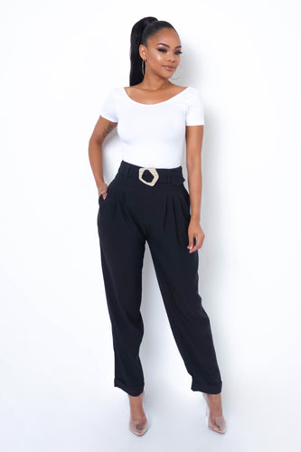 Luisa Pants - Black
