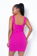 Alexa Mini Dress - Fuchsia