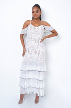 Valery Maxi Dress- White