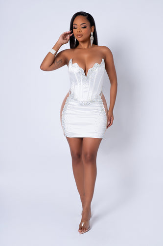 Cielo Two Piece Skirt Set - Blue