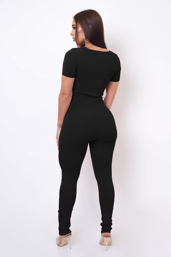 Drew Jumpsuit - Black
