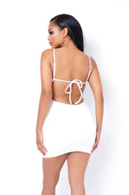 Angelica Mini Dress - White