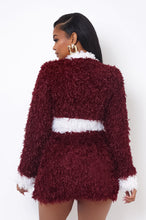 Coming To Town - Burgundy
