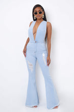 Cece Jumpsuit - Light Wash