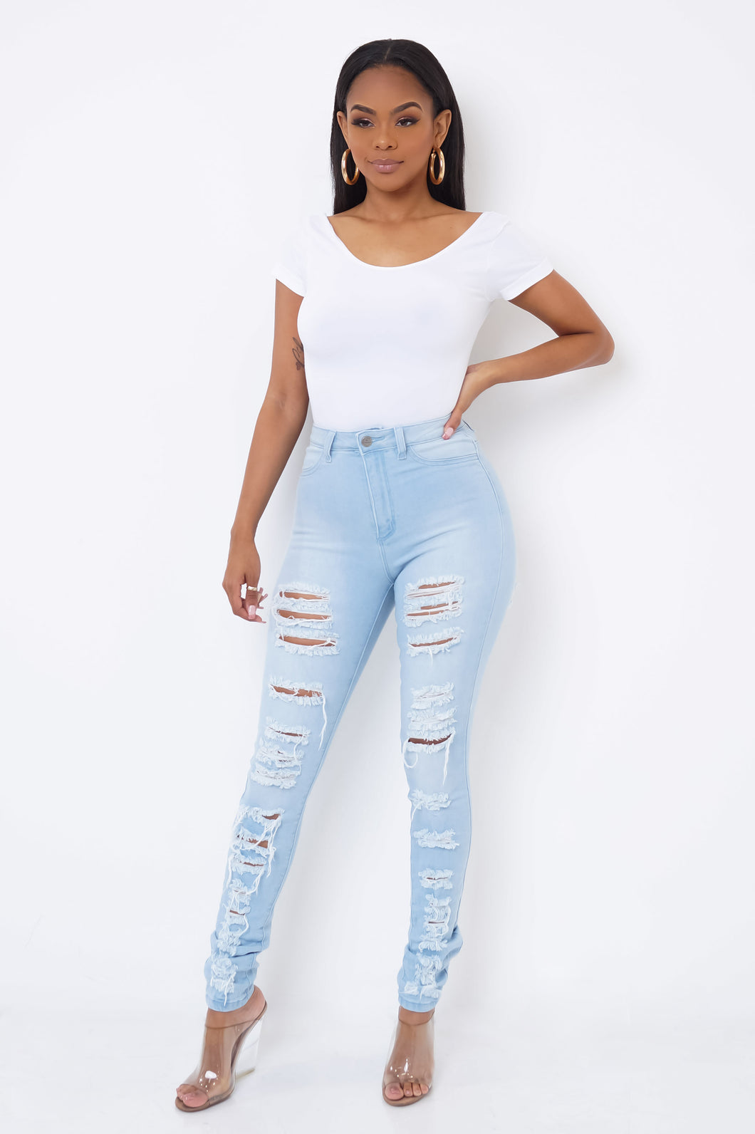 Inner Circle Jeans - Light Wash