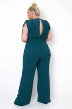 Plus Size Clemencia Jumpsuit - Green