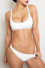 Carol Two Piece Swim Set - White
